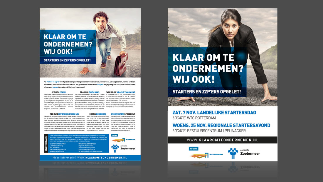 Advertenties Reclamebureau Zoetermeer