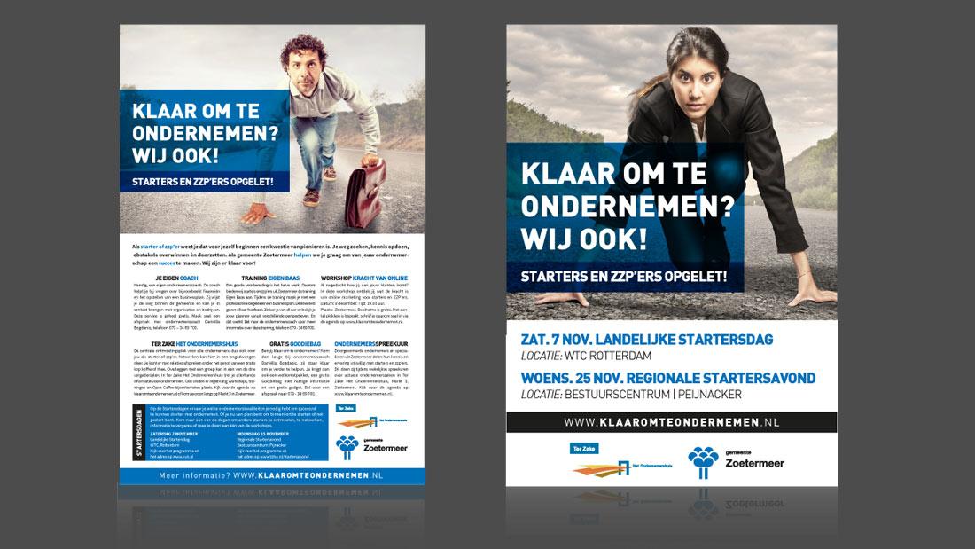 Advertenties Reclamebureau Zoetermeer